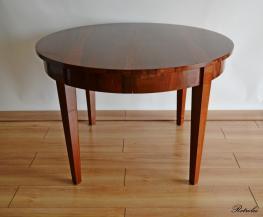 T26 Stół fi 120cm - rozkładany do 250cm