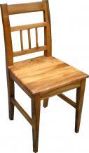 K24 Krzesło wiejskie orzechowe
