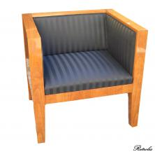 F41 Fotel czereśniowy CUBE