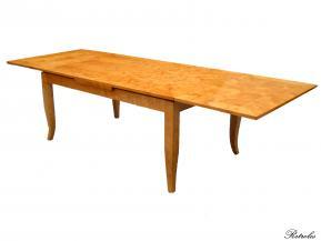 T11 Stół brzozowy 180cm (+2x50cm) x100cm